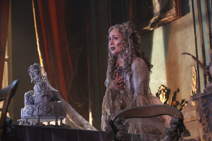 High Res Paula Wilcox as Miss Havisham