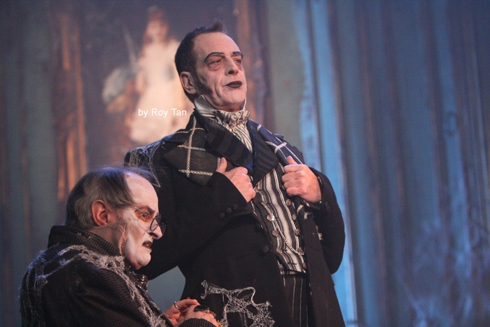 High Res James Vaughan as Wopsle and Wemmick Jack Ellis as Jaggers