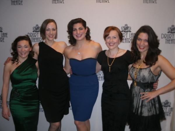 Rachel Klippel, Sarah Page, Amy Brophy, Amy Orman, Jill Sesso
