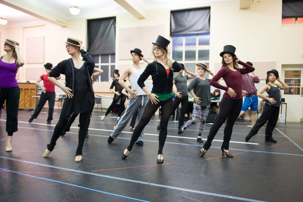 Photo Coverage: A CHORUS LINE In Rehearsal - Begins Previews Tonight!