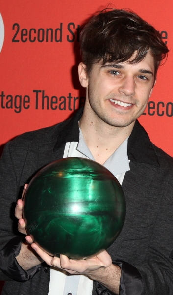 Andy Mientus at Benjamin Walker, Andy Mientus & More at Second Stage's  Bowling Classic- Part One
