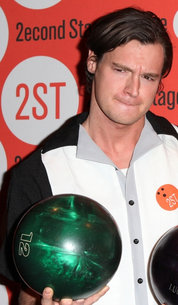 Photo Coverage: Benjamin Walker, Andy Mientus & More at Second Stage's  Bowling Classic- Part One