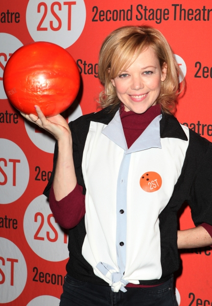 Emily Bergl  at Bill Pullman, Rebecca Naomi Jones & More at Second Stage's  Bowling Classic- Part Two
