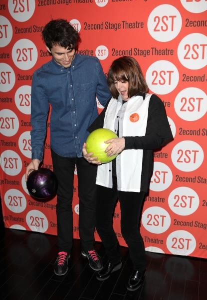 Patricia Richardson with son  Photo