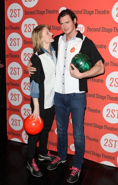 Mamie Gummer & Benjamin Walker  at Bill Pullman, Rebecca Naomi Jones & More at Second Stage's  Bowling Classic- Part Two