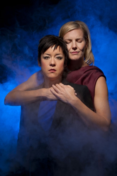 Photo Flash: First Look at Annemaria Rajala and Anna Ishida in THE FOURTH MESSENGER