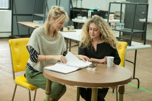 Photo Flash: In Rehearsal with Carol Kane, Pam MacKinnon and the Cast of THE LYING LESSON