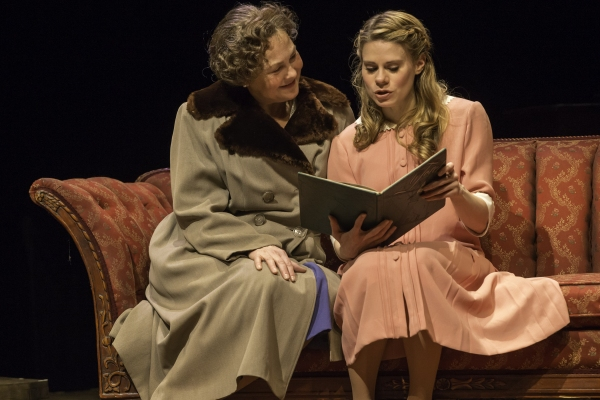 Photo Flash: First Look at Cherry Jones, Celia Keenan-Bolger, Zachary Quinto, Brian J. Smith and More in A.R.T.'s THE GLASS MENAGERIE