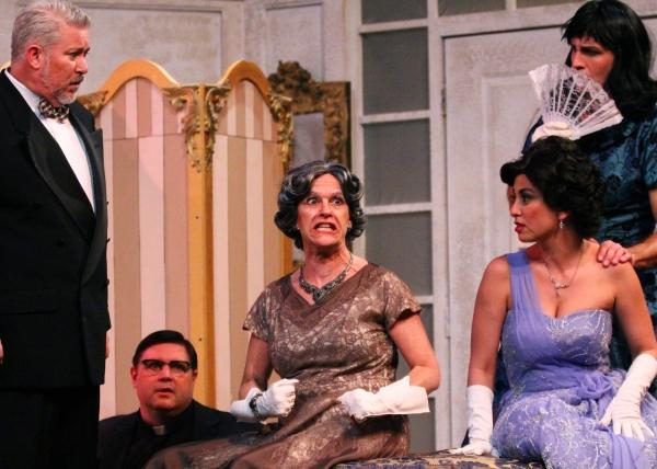 Walter Eccles as Doc, Matthew Kelty as Duncan, Ann Brandman as Florence, Tricia Marci Photo