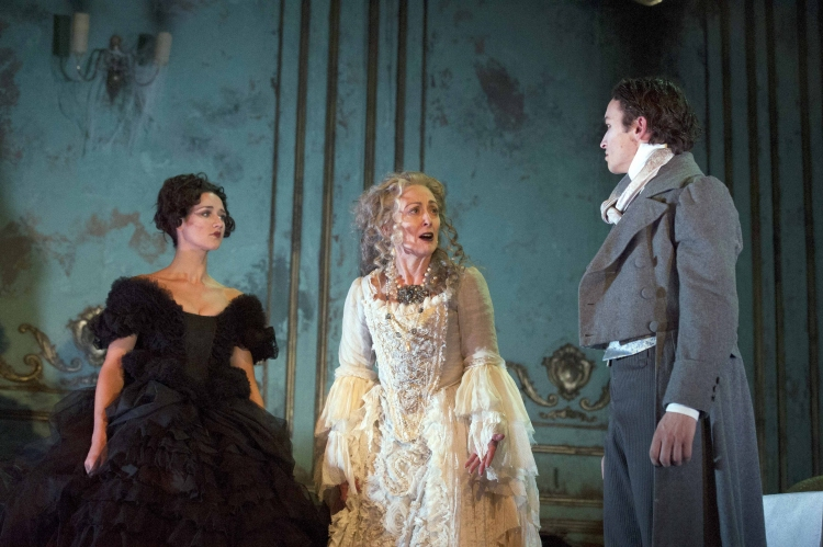 High Res Grace Rowe (Estella), Paula Wilcox (Miss Havisham) and Taylor Jay-Davies (Young Pip)
