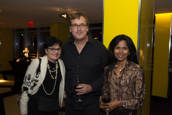 Caron Cole , Brian Smith, Fazia Ali Photo