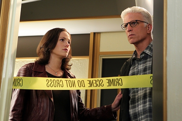 Jorja Fox, Ted Danson