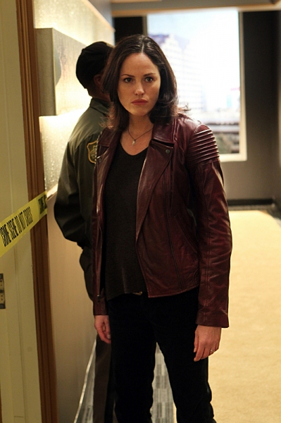Jorja Fox at CSI's 'Forget Me Not'
