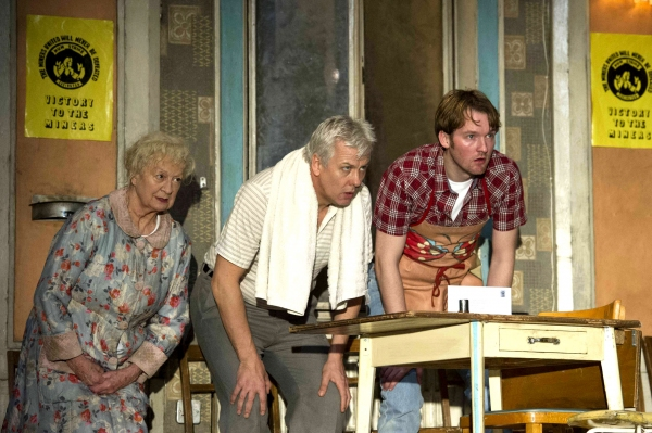 Ann Emery (Grandma), Deka Walmsley (Dad), Killian Donnelly (Tony)