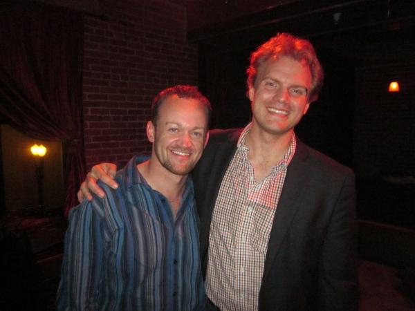 left to right: Dennis Kyle, Dan Callaway