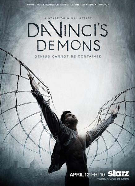 Photo Flash: First Look - Key Art for New Starz Series DA VINCI'S DEMONS