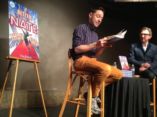 Photo Flash: Inside BETTER NATE THAN EVER Release with Tim Federle &Tom Schumacher!