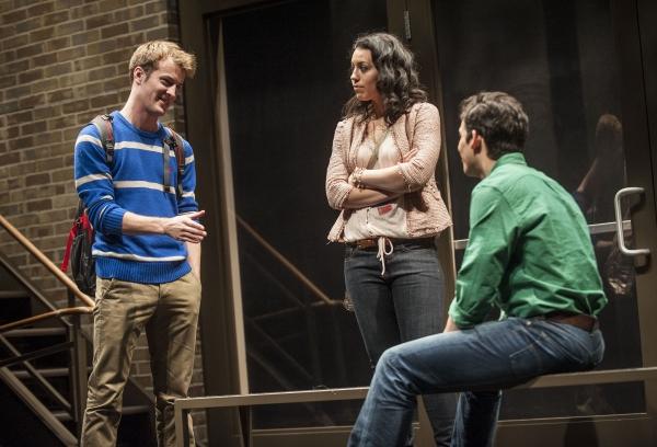 Josh Salt (Tim), Paloma Nozicka (Jenny) and Liam Benzvi (Gabe)