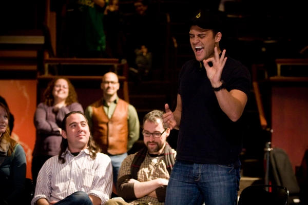 Photo Flash: Cheyenne Jackson, Jesse Tyler Ferguson and More in ONE NIGHT STAND!
