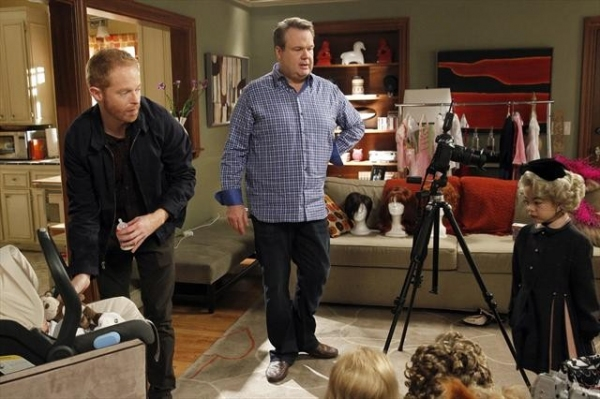 3 at MODERN FAMILY's 'Bad Hair Day'