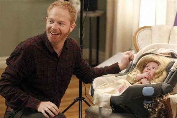 JESSE TYLER FERGUSON at MODERN FAMILY's 'Bad Hair Day'