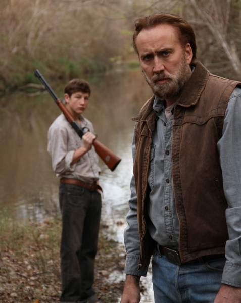 Nicolas Cage at First Look - Nicolas Cage Stars in Southern Drama, JOE