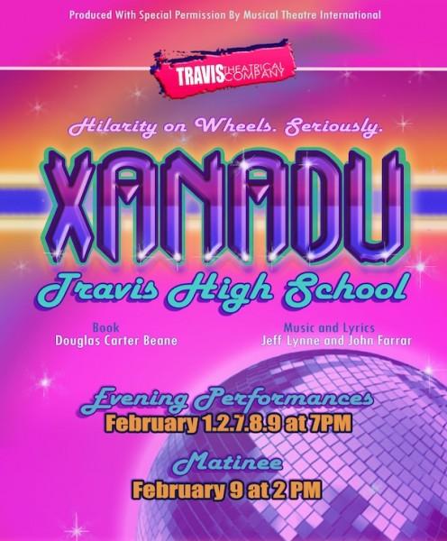 Photo Flash: First Look at Travis High School's XANADU; Runs Thru 2/9!