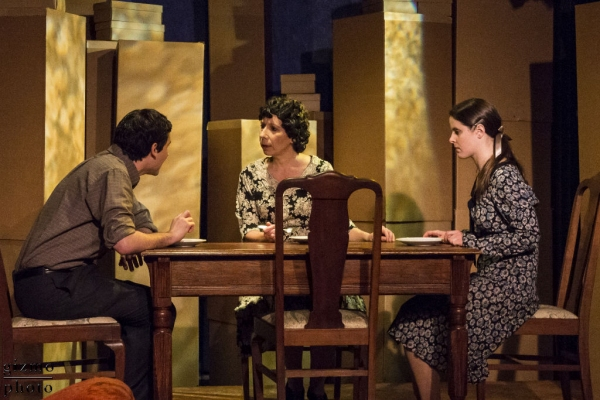 Photo Flash: First Look at Julie Herber, Vanessa Strickland and More in MET's THE GLASS MENAGERIE