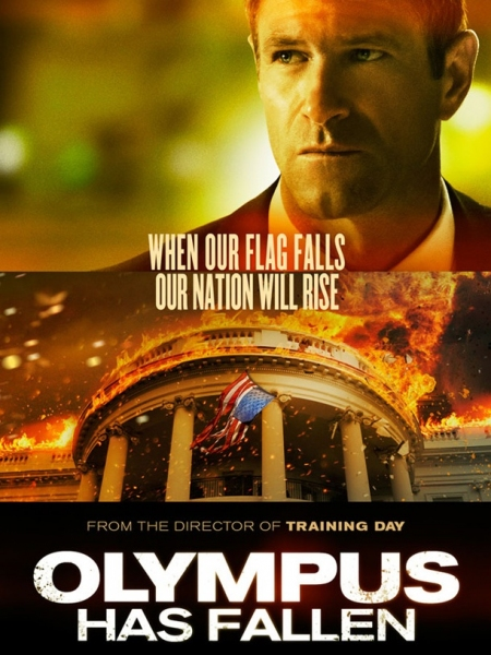 Photo Flash: First Look - Aaron Eckhart in Poster for OLYMPUS HAS FALLEN