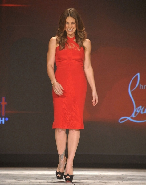 Jillian Michaels in Cushnie et Ochs (Photo by Getty Images for Heart Truth)
