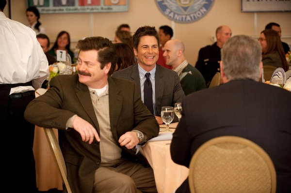 Photo Flash: PARKS AND RECREATIONS' 'Correspondent's Lunch'
