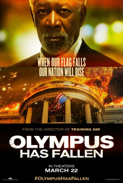 Photo Flash: Morgan Freeman Character Poster for OLYMPUS HAS FALLEN