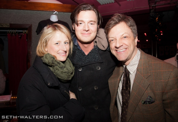 Photo Flash: CAT ON A HOT TIN ROOF's Benjamin Walker, Emily Bergl and More Join Jim Caruso's Cast Party at Birdland