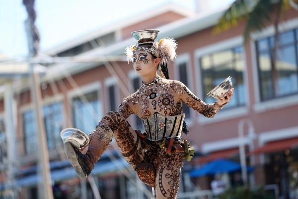 Photo Flash: Cast of Cirque du Soleil's TOTEM Surprises Bayside Market Place Crowds
