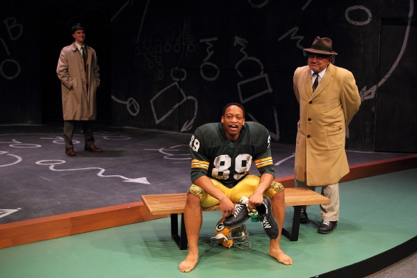 Jarred Baugh as Michael McCormick, Gabriel Lawrence as Dave Robinson and Edward Furs as Vince Lombardi