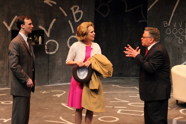 Jarred Baugh as Michael McCormick, Marcy McGuigan as Marie Lombardi and Edward Furs as Vince Lombardi