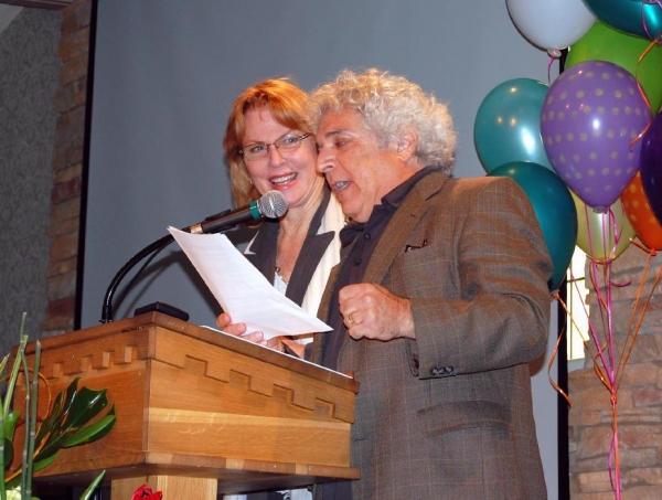 Jerry Siroka and Mariette Hartley Photo