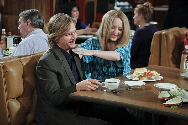 David Spade, Wendi McLendon-Covey at RULES OF ENGAGEMENT's 'Cats & Dogs'