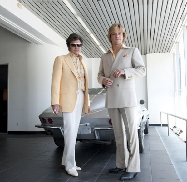 Michael Douglas, Matt Damon at New Image from HBO's BEHIND THE CANDELABRA, Feat. Douglas & Damon