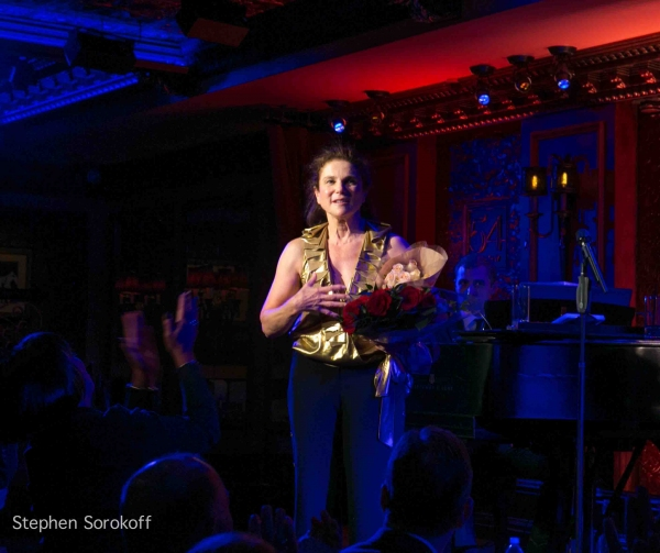 Photo Coverage: Tovah Feldshuh Brings ON, OFF & NOW UNDER BROADWAY!  to 54 Below