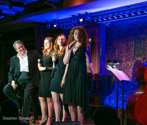 Eric Michael Gillett, Eva Kantor, Bailey Meanes, Marissa Mulder at Eric Michael Gillett Plays 54 Below!