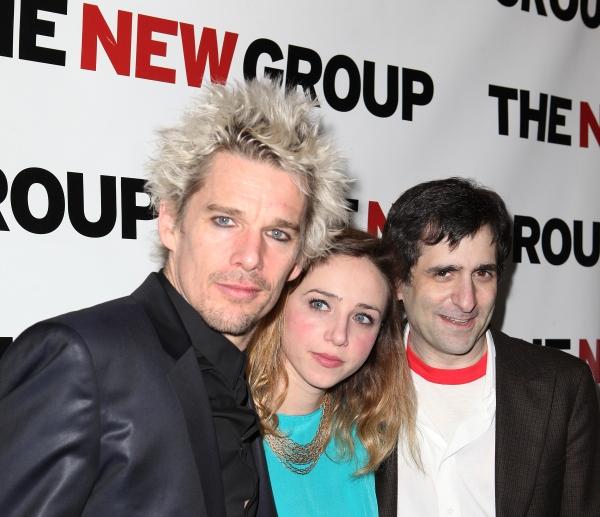 Ethan Hawke, Zoe Kazan & Jonathan Marc Sherman