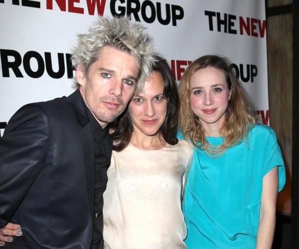 Ethan Hawke, Stephanie Janssen & Zoe Kazan