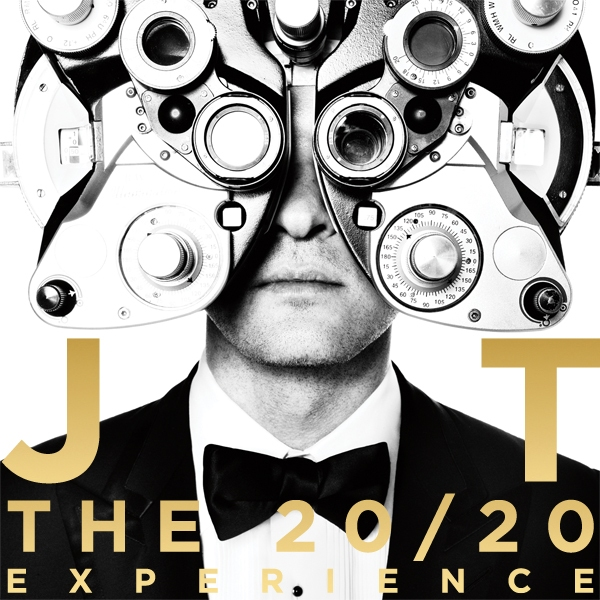 Photo Flash: First Look - Cover Art for Justin Timberlake's 20/20 Experience