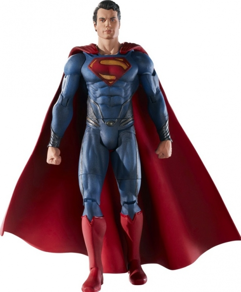 Photo Flash: First Look - MAN OF STEEL Action Figures Coming This June!