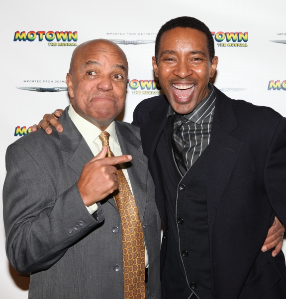 Berry Gordy & Director Charles Randolph-Wright at Inside MOTOWN's Cast Meet & Greet!