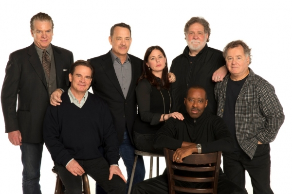 Christopher McDonald, Peter Scolari, Tom Hanks, Maura Tierney, Richard Masur, Courtney B. Vance, Peter Gerety