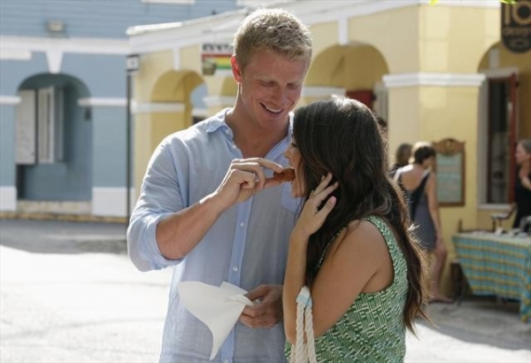 Photo Flash: First Look - Tierra & Sean Heat Things Up On the Next BACHELOR