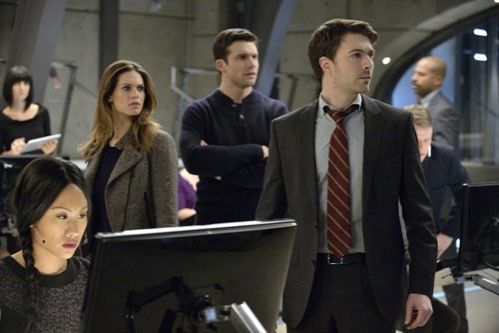 Lyndsy Fonseca, Dillon Casey, Noah Bean at NIKITA's 'Black Badge'