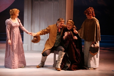 Nancy Lemenager as Elinor, V Craig Heidenreich as Sir John Middleton, Penny Slusher  Photo